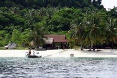 Paysage d'île Photographie stock
