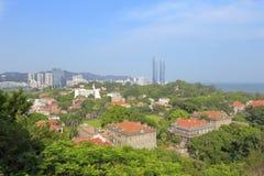 Paysage d'île de gulangyu photo stock