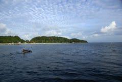 Paysage d'île de Phiphi images stock