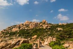 Paysage d'île de Putian Meizhou Images stock
