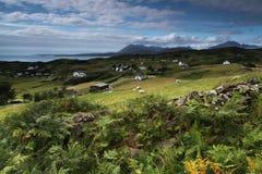 Paysage d'île de Skye, Ecosse photo libre de droits