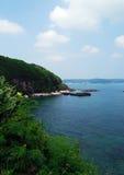 Paysage d'île de Weizhou Photo libre de droits