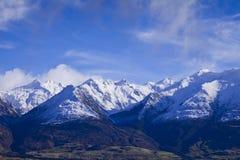 Paysage d'île du sud, Nouvelle-Zélande Photo libre de droits