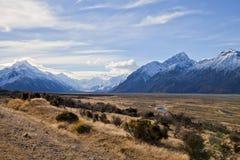 Paysage d'île du sud, Nouvelle-Zélande Images stock