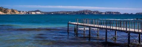 Paysage d'île, paysage marin de Majorca Espagne image stock