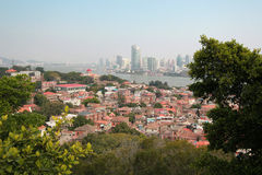 Paysage d'îlot de Gulangyu Photographie stock libre de droits