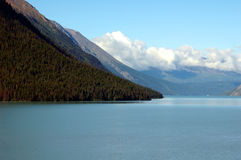 Paysage d'Alaska Photos stock