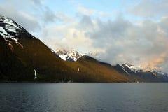 Paysage d'Alaska images libres de droits