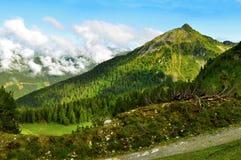 Paysage d'Alpes Photos libres de droits