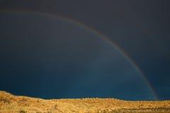 Paysage d'arc-en-ciel Photo libre de droits
