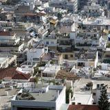 Paysage d'Athènes Image libre de droits