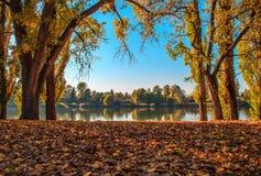 Paysage d'automne Images libres de droits