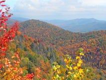 Paysage d'automne dans les montagnes Photographie stock libre de droits