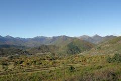 Paysage d'automne dans Pyrénées, Frances images libres de droits