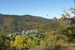Paysage d'automne dans Pyrénées, Frances image libre de droits
