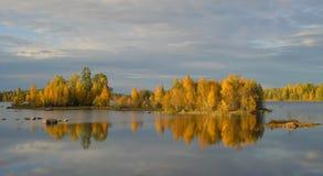 Paysage d'automne de Beatuful Image libre de droits