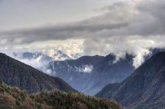 Paysage d'automne de Sichuan Photographie stock