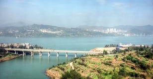 Paysage d'automne de Sichuan Photos stock