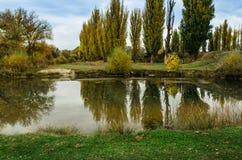 Paysage d'automne en Crimée Photo stock