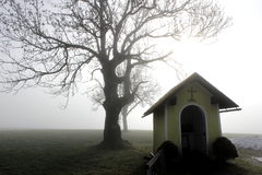 Paysage d'automne en Europe Images libres de droits