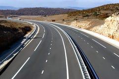 Paysage d'autoroute photos libres de droits