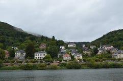 Paysage d'Heidelberg image stock