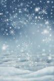Paysage d'hiver dans la neige illustration libre de droits