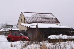 Paysage d'hiver de Milou Photo libre de droits