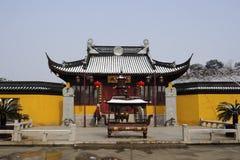Paysage d'hiver de Suzhou Image libre de droits