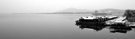 Paysage d'hiver de Suzhou Image stock