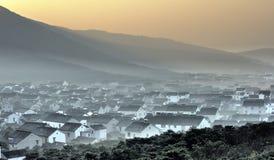 Paysage d'hiver de Suzhou Photo stock