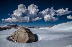 Paysage d'hiver en parc national de séquoia, Etats-Unis images stock