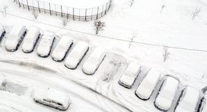 Paysage d'hiver sur le lac Baïkal, Sibérie, Russie Image libre de droits