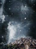 Paysage d'imagination Image stock