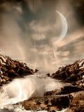 Paysage d'imagination Images libres de droits