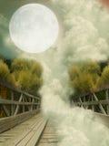 Paysage d'imagination image libre de droits