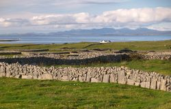 Paysage d'Inishmore image stock