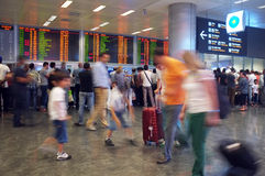 Paysage d'intérieur d'aéroport d'Ataturk Image libre de droits