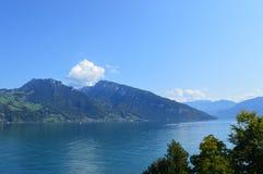 Paysage d'Interlaken Photo stock