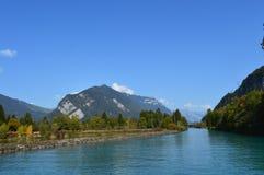 Paysage d'Interlaken Photographie stock