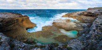 Paysage d'île d'Eleuthera Image libre de droits