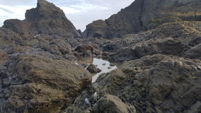 Paysage d'océan Photos libres de droits