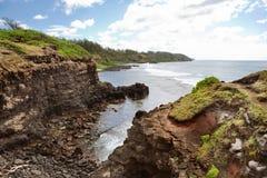 Paysage d'océan d'île des Îles Maurice images libres de droits