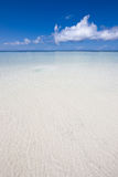 Paysage d'océan dans l'Océan Indien Photographie stock