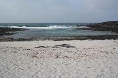 Paysage d'Orzola, Lanzarote, île de canarias Image libre de droits