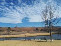 Paysage d'Underberg, Afrique du Sud Photos libres de droits