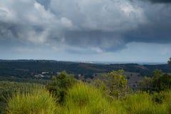 Paysage dans l'autum dans les montagnes de Pyrénées en France images stock