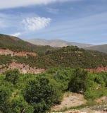 Paysage dans la montagne photos stock