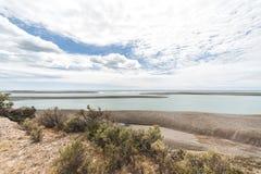 Paysage dans la péninsule de Valdes Image stock