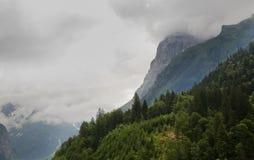 Paysage dans le canton d'Obwald switzerland Photos stock